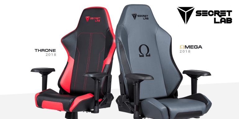 SecretLab Omega And Throne Gaming Chairs-min