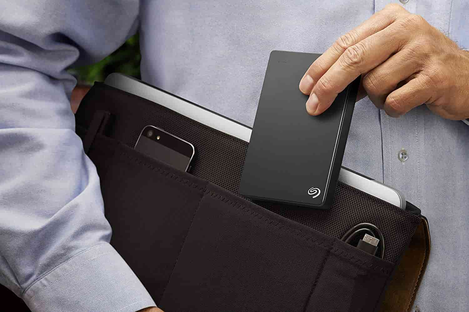 Seagate Backup Plus External Drive Size