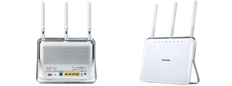 TP-Link router white