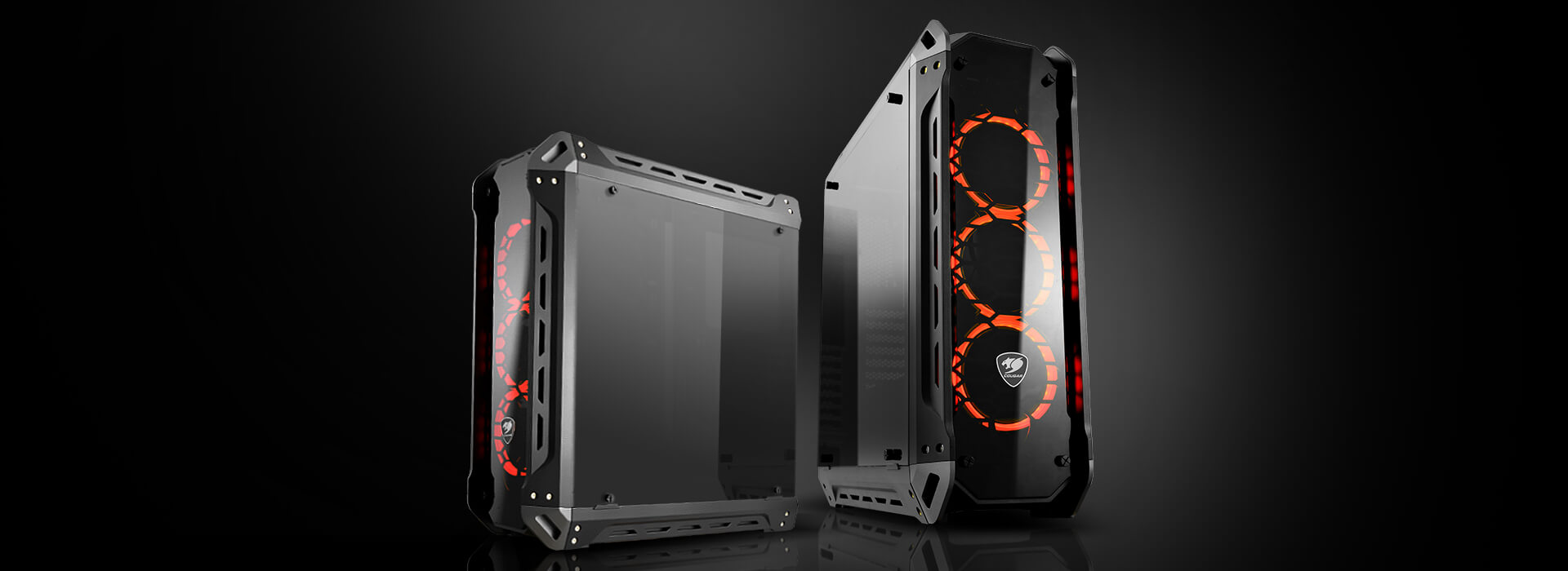 COUGAR PANZER-G Tempered Glass Gaming Mid-Tower PC Case