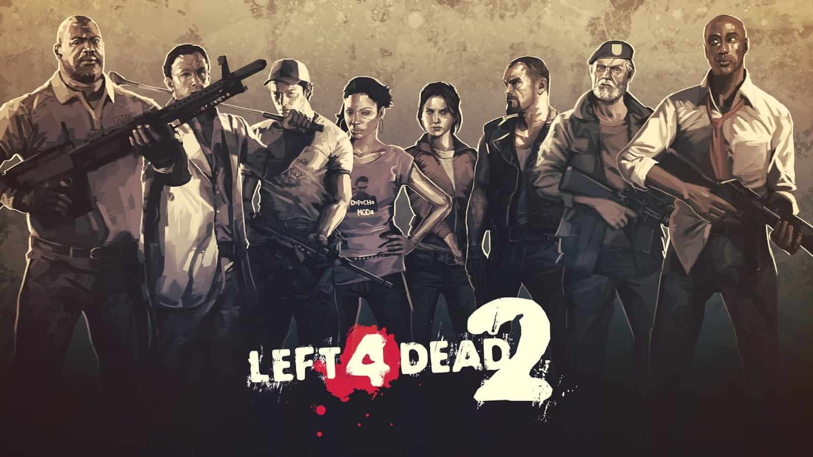 Left 4 Dead 2 game characters